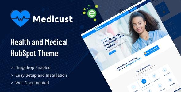 Medicust - Health and Medical HubSpot Theme - Retail HubSpot CMS Hub