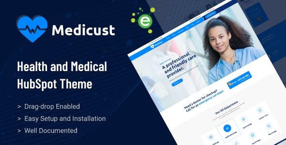 Medicust - Health and Medical HubSpot Theme