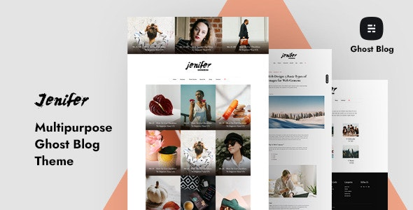 Jenifer - Multipurpose Ghost Blog Theme - Ghost Themes Blogging