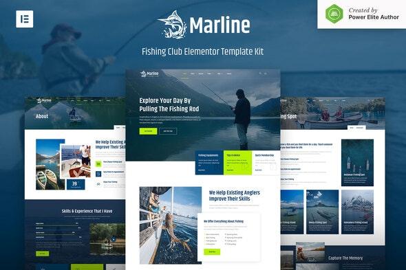 Marline – Fishing & Hunting Club Elementor Template Kit - Travel & Accomodation Elementor
