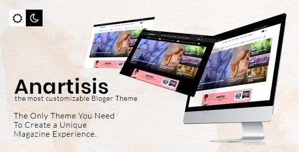 Anartisis - News & Magazine Blogger Theme