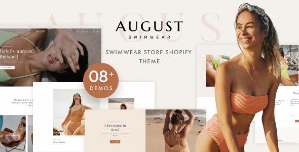 August - Multipurpose Shopify Theme - Fashion Shopify