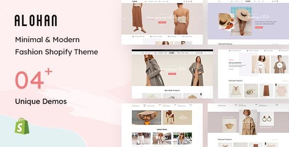 Alohan - Fashion Shopify Theme - Fashion Shopify