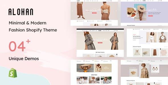 Alohan - Fashion Shopify Theme