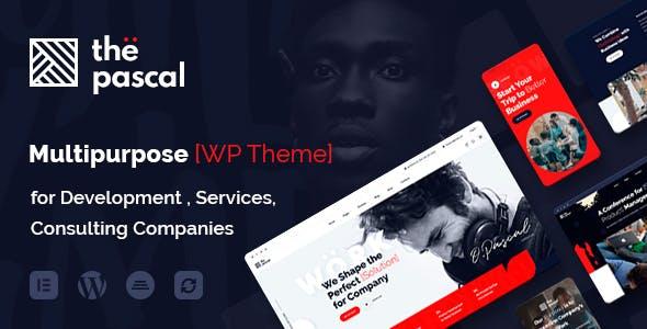 thePascal - Multipurpose Business WordPress Theme