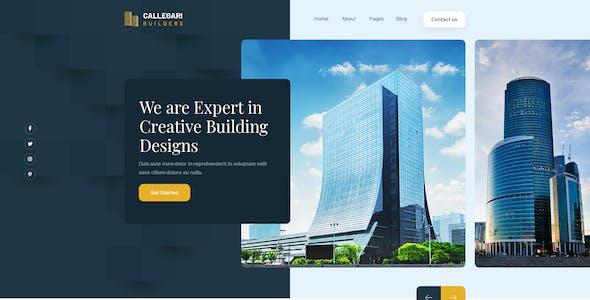 Callegari Builders | PSD Template