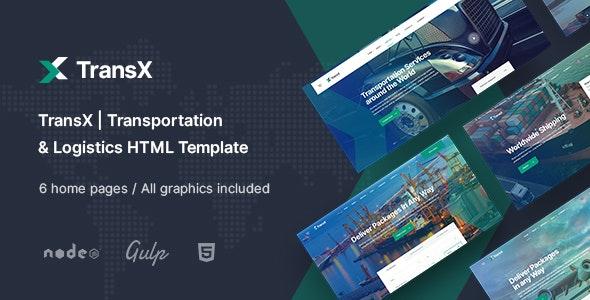 TransX | Transportation & Logistics HTML Template - Business Corporate