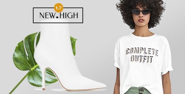 New-High Fashion WooCommerce WordPress Theme - WooCommerce eCommerce