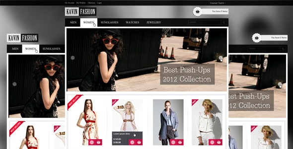 Kavin Fashion - Retail Photoshop