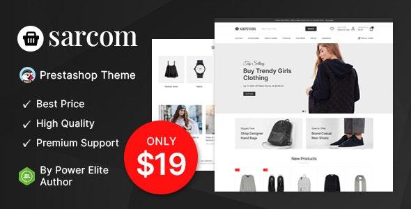 Sarcom - Fashion Prestashop Theme - Fashion PrestaShop