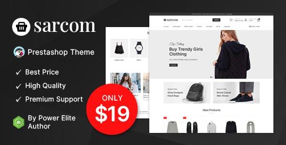 Sarcom - Fashion Prestashop Theme