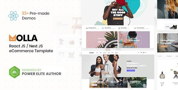 Molla - React/Next eCommerce Template - Fashion Retail