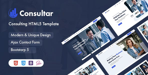 Consultar - Consulting Business HTML5 Template