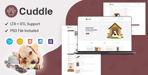 Cuddle - Responsive OpenCart Theme