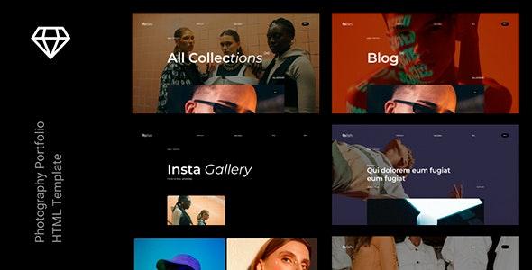 Folish –  Photography Portfolio HTML Template - Photography Creative