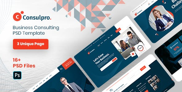 Consulpro - Business Consulting PSD Template