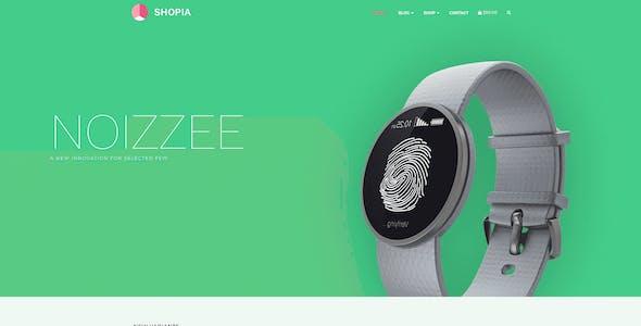 Shopia - Single Product WooCommerce WordPress Theme