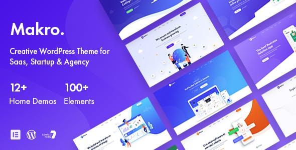 Makro - WordPress Theme For Saas & Startup