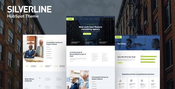 Silverline – Finance & Investment HubSpot Theme - Corporate HubSpot CMS Hub