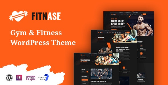 Fitnase - Gym And Fitness WordPress Theme - Health & Beauty Retail