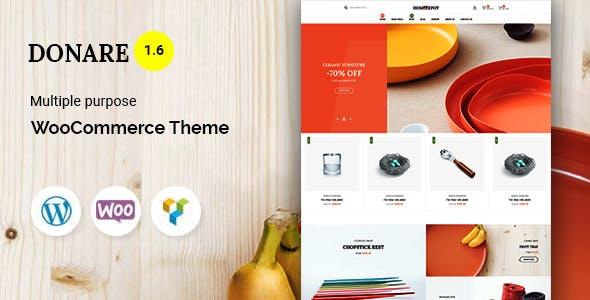 Donare - Gift Store WooCommerce Theme