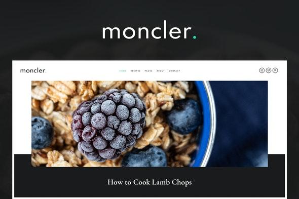 Moncler - Food Blog Elementor Template Kit - Food & Drink Elementor
