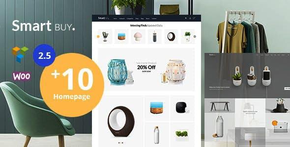 Smartbuy - Shop WooCommerce WordPress  For Digital and Garden Home Theme