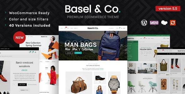 Basel - Responsive WooCommerce Theme - WooCommerce eCommerce