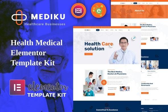 Mediku - Health Medical Elementor Template Kit - Health & Medical Elementor