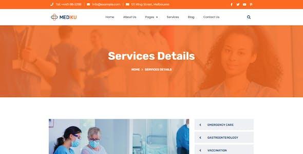 Mediku - Health Medical Elementor Template Kit