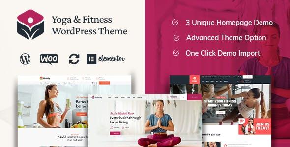 Helthify - Yoga and Fitness WordPress Theme