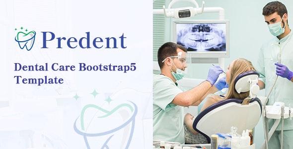 Predent – Dental Care HTML Template - Health & Beauty Retail