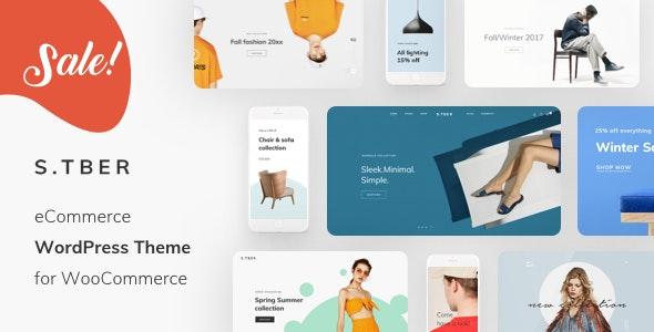 Stber - Furniture & T-Shirt WooCommerce WordPress theme - eCommerce WordPress