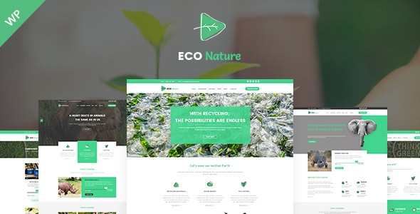 Eco - Eco Nature WordPress Theme - Environmental Nonprofit