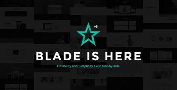Blade v3.3.4 – Responsive Multi-Functional Theme