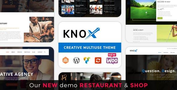 Knox | Multi-Business Modern WordPress Theme