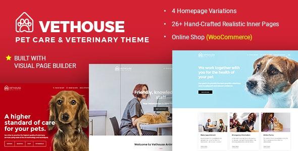 Vethouse - Pet Care & Veterinary Theme - Health & Beauty Retail