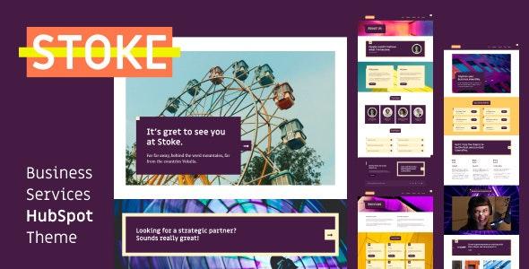 Stoke - Business Services HubSpot Theme - Creative HubSpot CMS Hub