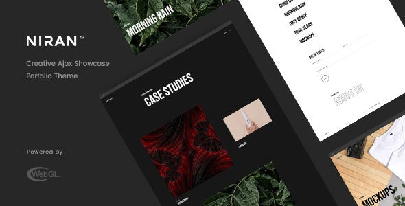 Niran - Creative Portfolio Template - Creative Site Templates