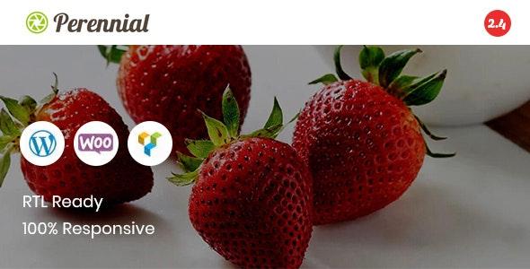 Perennial - Store WooCommerce WordPress for Organic Food Theme - WooCommerce eCommerce
