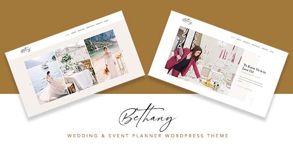 Bethany - Wedding & Event Planner WordPress - Wedding WordPress