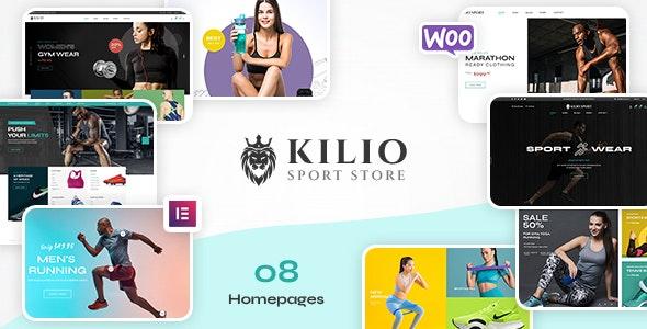 Kilio -  Sport Shop WooCommerce WordPress Theme - WooCommerce eCommerce