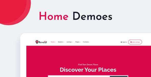 Reveal - Business Directory & Listings HTML Template