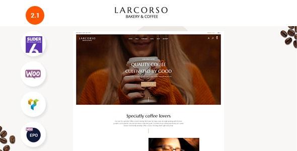 Larcorso - Coffee Shop WooCommerce Theme - WooCommerce eCommerce