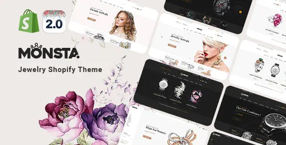 Jewelry Responsive Shopify Theme - Monsta