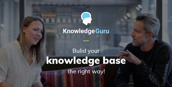 KGuru - A Knowledge Base WordPress Theme