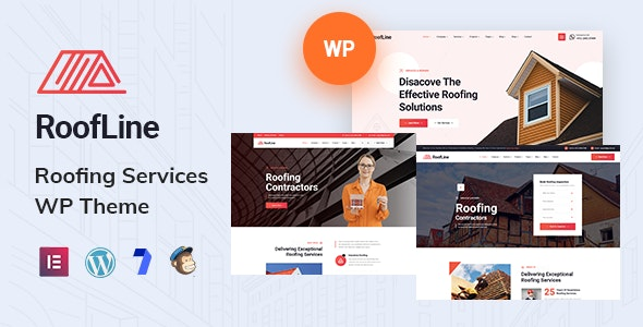 RoofLine - Roofing Services WordPress Theme - Business Corporate