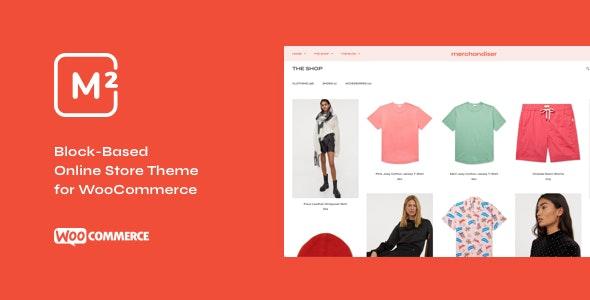 Merchandiser - eCommerce WordPress Theme for WooCommerce - WooCommerce eCommerce