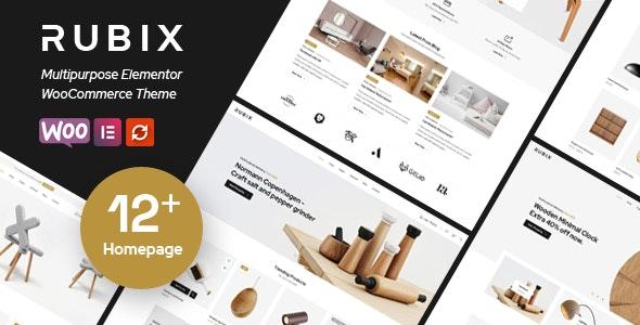 Rubix - Multipurpose eCommerce WordPress Theme - WooCommerce eCommerce