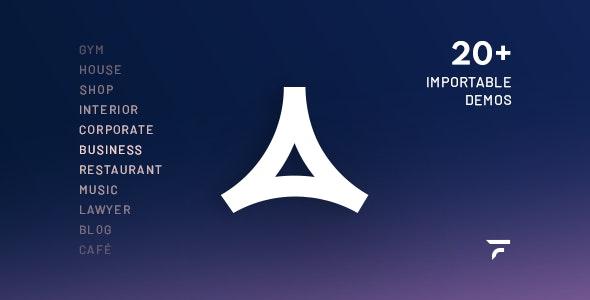 Aidea — Business WordPress Theme - Business Corporate